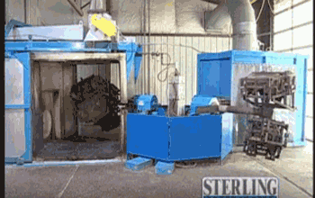 Sterling Rotational Molding Machine R9